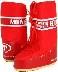 Tecnica - Moon Boot(r) (pink) Cold Weather Boots - Lyst