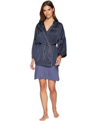 Emporio Armani - Pajama Couture Kimono (night Blue) Women's Clothing - Lyst