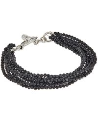 King Baby Studio   8 Strand Spinel Bracelet W/ Mini Toggle Clasp   Lyst
