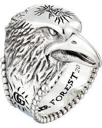 Gucci   Anger Forest Eagle Ring   Lyst