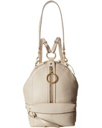See By Chloé - Mini Mino Leather Backpack - Lyst