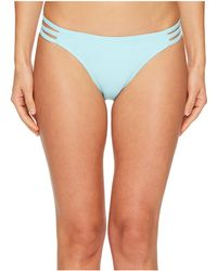 Letarte - Printed Medium Coverage Lattice Side Bottoms - Lyst