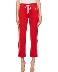 The Kooples | Jogging Trousers With Double Ecru Hoops | Lyst