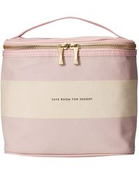 526b43868 Kate Spade Rugby Stripe Lunch Tote in Pink - Lyst