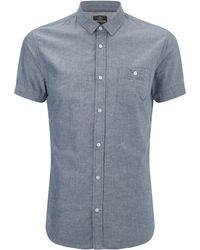 Threadbare - Alfa Short Sleeve Shirt - Lyst