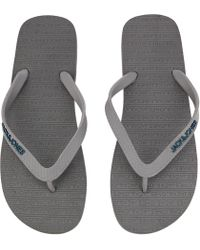 c21a7e8966ffa Jack   Jones Flip Flops in Blue for Men - Lyst