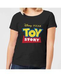 Disney Toy Story Pizza Planet Logo T Shirt In Black Lyst