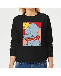 Disney - Dumbo Portrait Sweatshirt - Lyst