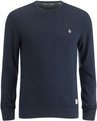 Original Penguin - Crew Neck Sweatshirt - Lyst
