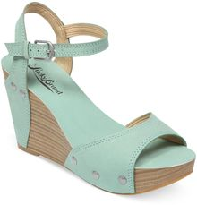 Lucky Brand Womens Marshaa Platform Wedge Sandals - Lyst