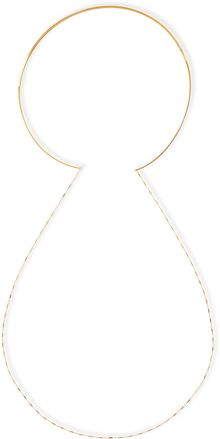 Jennifer Zeuner 14k Gold Vermeil Collar Necklace with Draped Chain - Lyst