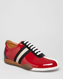 Bally Patent Freenew Sneakers - Lyst