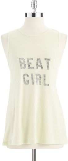 French Connection Beat Girl Tank - Lyst