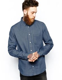 Cheap Monday Denim Shirt - Lyst