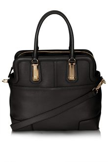 Topshop Icon Leather Doctors Tote Bag - Lyst