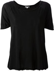 James Perse Oversized Tshirt - Lyst