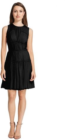 Cynthia Steffe Sleeveless Silk Dress - Lyst