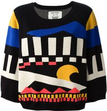 Henrik Vibskov Abstract Pattern Jumper - Lyst