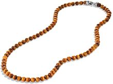 David Yurman Spiritual Beads Necklace with Tigers Eye - Lyst