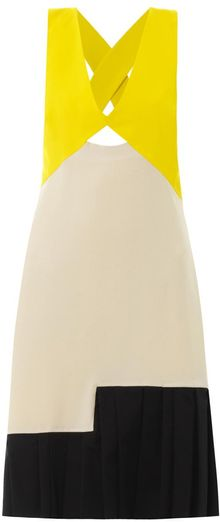 Roksanda Ilincic Eylia Colourblock Dress - Lyst