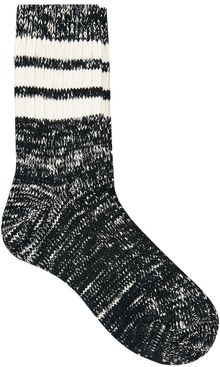 Asos Mixed Knit Stripe Ankle Socks - Lyst
