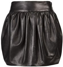 Barbara Bui Lamb Leather Mini Skirt - Lyst