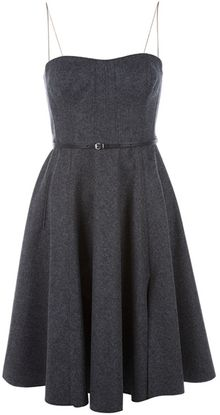 Carven A-line Dress - Lyst