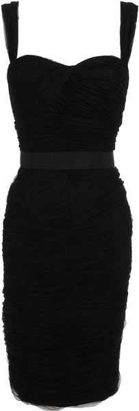 Dolce & Gabbana Tulle Corseted Dress - Lyst