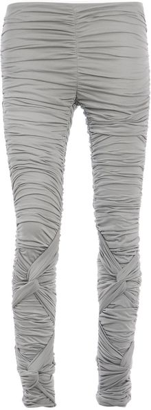 Burberry Prorsum Knotted Leggings - Lyst