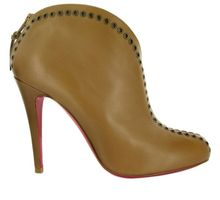 Christian Louboutin 100mm Catch Me Rivet Low Boots - Lyst