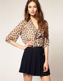 ASOS Collection Asos Poodle Print Tunic - Lyst