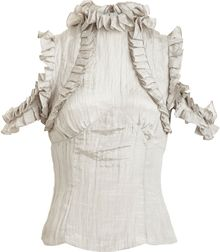 Rodarte x Opening Ceremony Crinkled Top - Lyst
