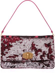 Miu Miu Sequined Clutch - Lyst