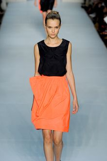 Marc By Marc Jacobs Spring 2012 Orange skirt - Lyst