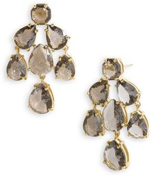Kate Spade Faceted Chandelier Statement Earrings - Lyst