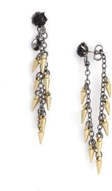 Marc By Marc Jacobs Last Dance Linear Thorn Earrings - Lyst