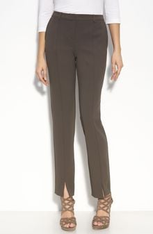 St. John Evening Crepe Ankle Pants - Lyst