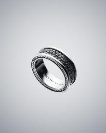 David Yurman 8.5mm Black Diamond Pave Ring - Lyst