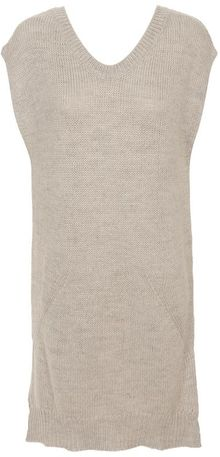 Alexander Wang Wool-mohair Blend Sleeveless Jumper - Lyst