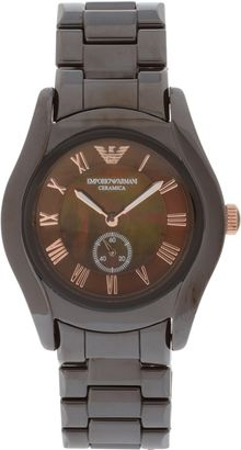 Emporio Armani Ceramic Watch - Lyst