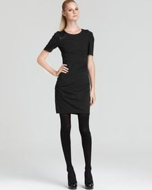 Cynthia Steffe Shadow Short Sleeve Dress - Lyst