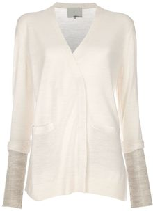 3.1 Phillip Lim V Neck Cardigan - Lyst