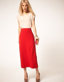 ASOS Collection Asos Midaxi Skirt - Lyst