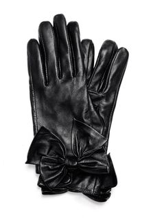 Mango Bow Gloves - Lyst