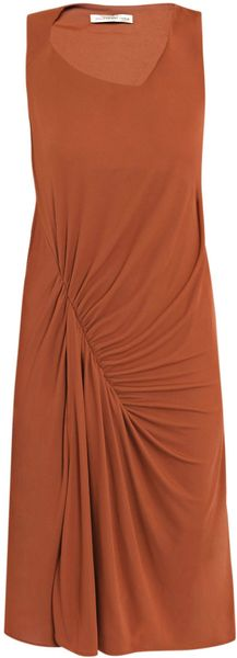 Balenciaga Rust Dress - Lyst