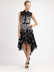 Jason Wu Silk Dress - Lyst