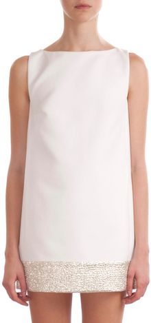 Giambattista Valli Metallic Hem Dress - Lyst