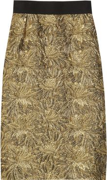 Dolce & Gabbana Jacquard and Tweed Skirt - Lyst