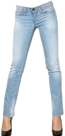 Dolce & Gabbana Girly Washed Denim Jeans - Lyst