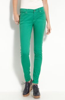 7 For All Mankind The Skinny Overdyed Jeans - Lyst